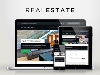 WP Pro Real Estate 6 Responsive WordPress Theme wordpress responsive clean real estate creative flat modern business