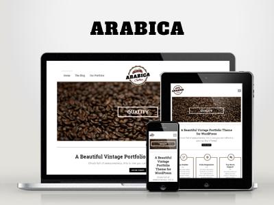 WP Arabica Responsive Creative WordPress Theme wordpress responsive clean creative flat bold woocommerce modern news