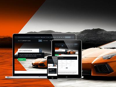 WP Pro Automotive 2 wordpress automotive responsive css3 dark light ecommerce woocommerce mobile