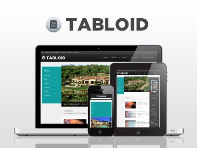 WP Tabloid Responsive Magazine & News WordPress Theme wordpress theme clean blog magzine news responsive minimal