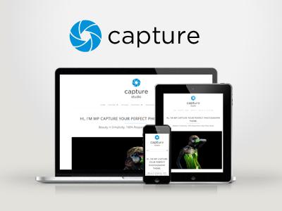 WP Capture — Responsive Multipurpose Theme wordpress creative responsive portfolio clean modern minimal