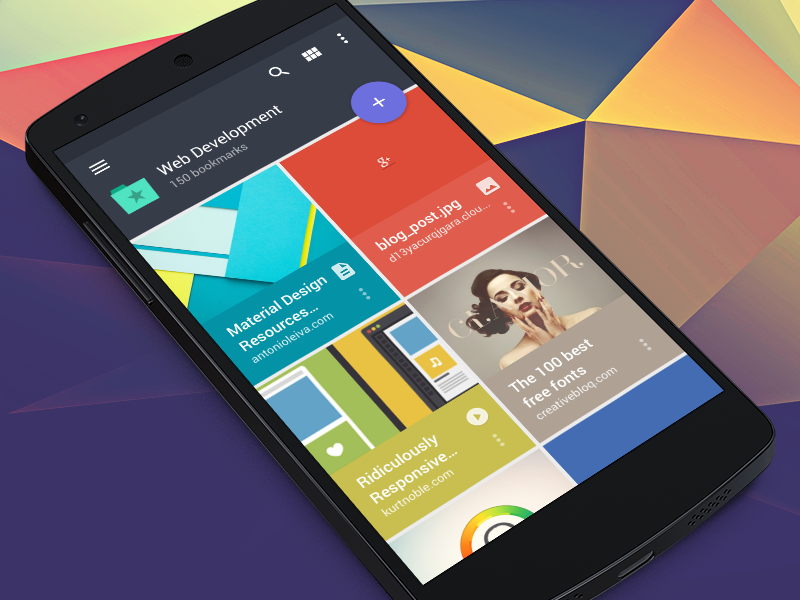 Raindrop android app material design by mussabekov for Easy app design