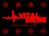 Vital Signs Sermon Series Graphic