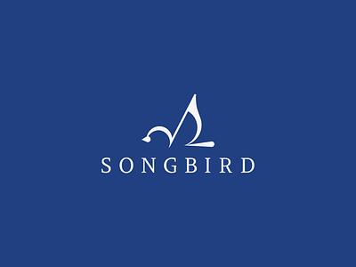 Songbird music bird songbird branding vector logo icon design