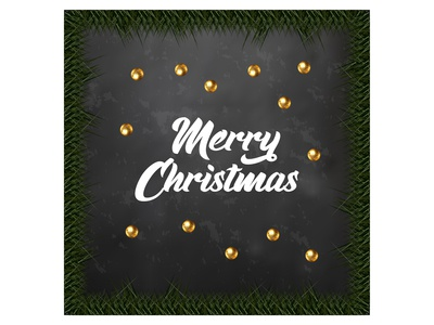 Illustration of merry christmas