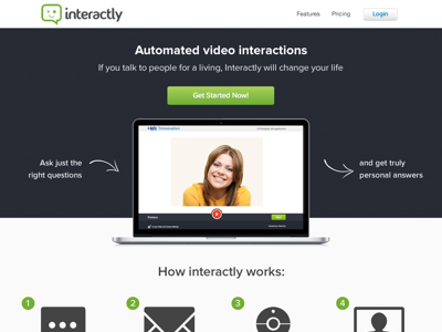 Interactly - Homepage