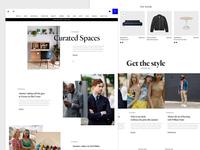 Homepage WIP