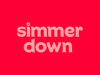 Simmer Down Logo