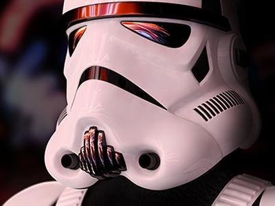 Disney Star Wars Weekends 01 3d vray cinema 4d styleframe stormtrooper star wars