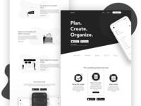 Productivity Apps - Website Concept