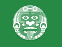 Aztec Face