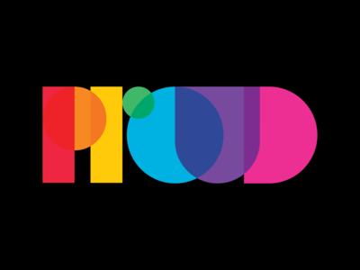Stay Proud 2020 color happy proud pride rainbow gay pride gay typography vector illustrator flat lettering type icon logo branding design