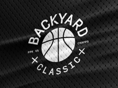 PPK X CHAMPS illustrator challenge team sports jersey badge type illustration dribbble dribble basketball logo branding design