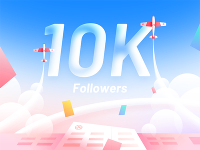 Hiwow 10k Followers followers 10000 hiwow aircraft colors sky