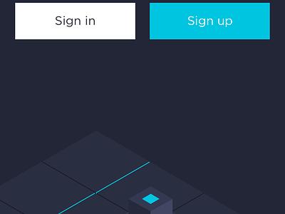 Conceptual digital currency app ui blockchain concise 应用 ios hiwow