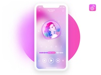 Daily practice: music player APP design