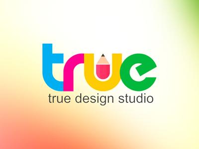 True deisgn studio logo