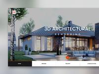 95th 3D - Web Layout Design