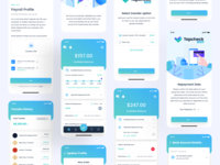 Tapcheck Direct App Design ((Live 🤳)) web design landing page design web message apple medical app typography statistics ios app dashboard branding illustration gradient design ux ui