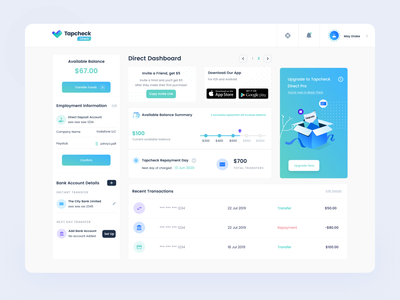 Tapcheck Direct Dashboard finance dashboard admin theme product design figma sketch bootstrap admin dashboard template payment app 3d website design admin template admin dashboard iphone dashboard gradient app design ux ios ui