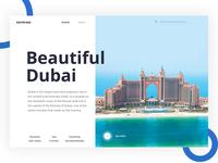 Daily UI #019 (Beautiful Dubai )