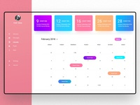 Daily UI #021 (Event management Dashboard)