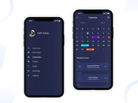 Daily UI #022 (iPhone X UI - Dashboard)