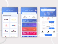 Daily UI #024 (Book Your Flight)