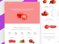 Product Landing Page (Tomato)