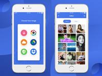 Photo Editor App Screen 1