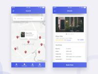 Bonding (Find home for Bachelor ) App Screen