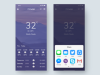 Weather UI Exploration