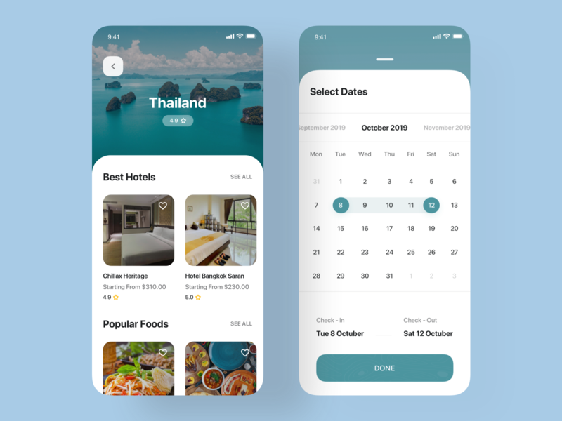 Travel app UI Kit dashboard flat design dashboard template dashboard app financial app travel ui8net finance app travel app ui kit android iphone web dashboard gradient app design ios ux ui
