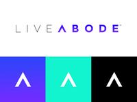LiveAbode logo design