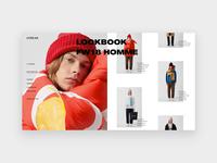 Loreak lookbook page