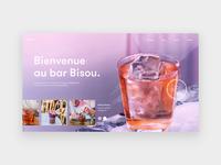 Bar Bisou homepage