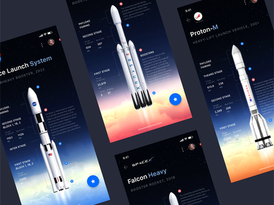 Online Space Encyclopedia astronomy rockets clouds stars rocket iphone x mobile iphone application space x cosmos interface