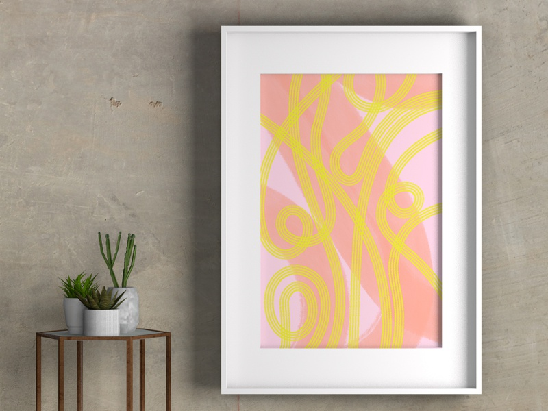 Abstract Giclée Art Prints