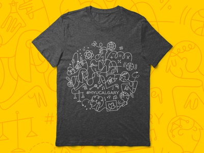 U Calgary 2018 Fall Orientation Week T-Shirt