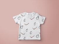 Baby t shirt mockup 1