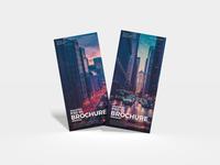 Free Branding PSD DL Brochure Mockup