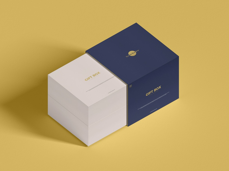 Free Gift Box Mockup psd print template stationery mockups mockup design identity freebie free box mockup packaging mockup mockup psd mockup free free mockup mock-up mockup gift box mockup font download branding