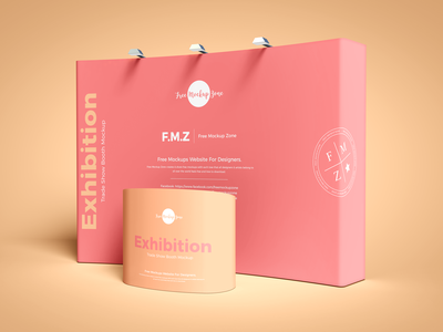 Free Exhibition Trade Show Booth Mockup psd print template stationery mockups booth mockup identity freebie free stand mockup banner mockup mockup psd mockup free free mockup mock-up mockup trade show exhibition download branding
