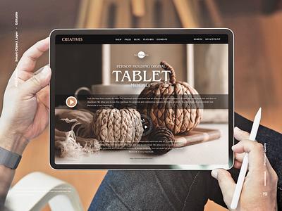 Free Digital Tablet Mockup tablet mockup