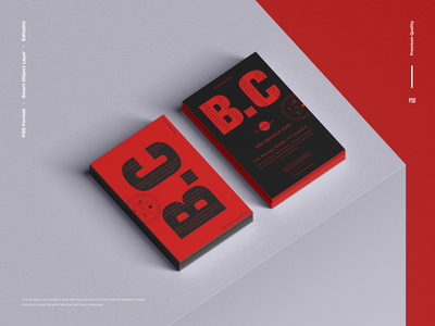 Free Stack of Business Card Mockup business card mockup