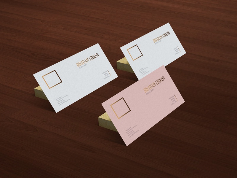 Freebie | Business Card On Wooden Floor Mockup mockup template psd mockup psd mockup free mockup