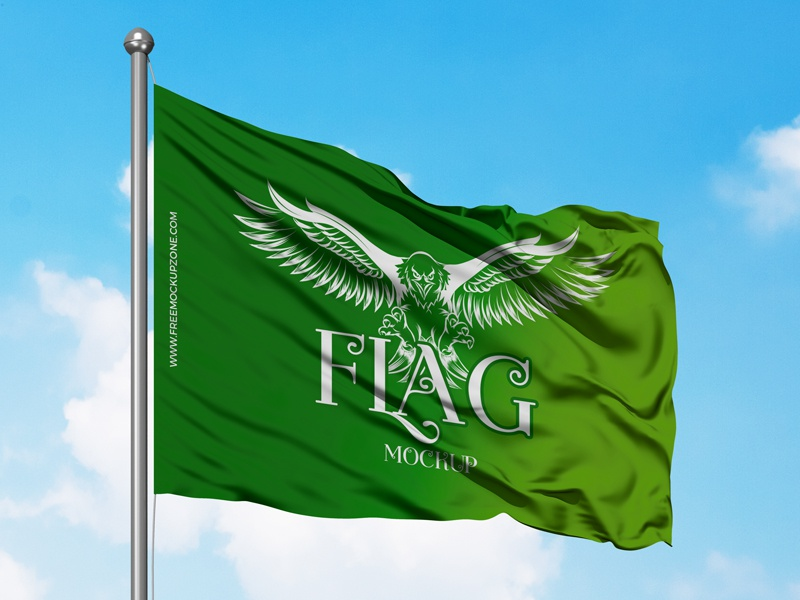 Free Flag Mockup Psd 2018 freebies mockup template free psd mockup freebie free mockup mockup free psd mockup mockup flag mockup