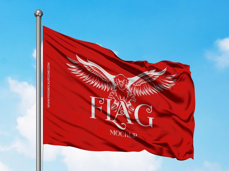 Free Flag Mockup 2018 freebies mockup template free psd mockup freebie free mockup mockup free psd mockup mockup flag mockup