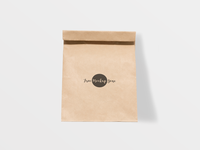 Free Brown Paper Burger Packaging Mockup