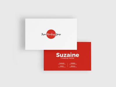 Free Business Card Mockup Psd #1